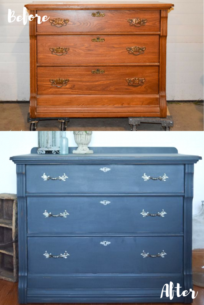 Charcoal Dresser with a Surprise! 13