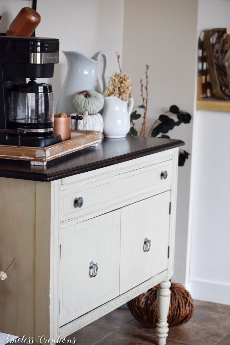 Simple Changes for Fall: Our Coffee Bar 1