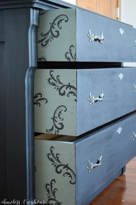 Charcoal Dresser with a Surprise! 6