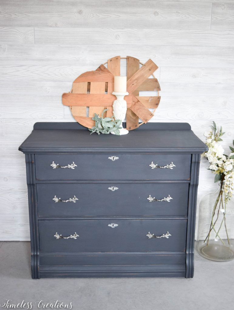 Charcoal Dresser with a Surprise! 5