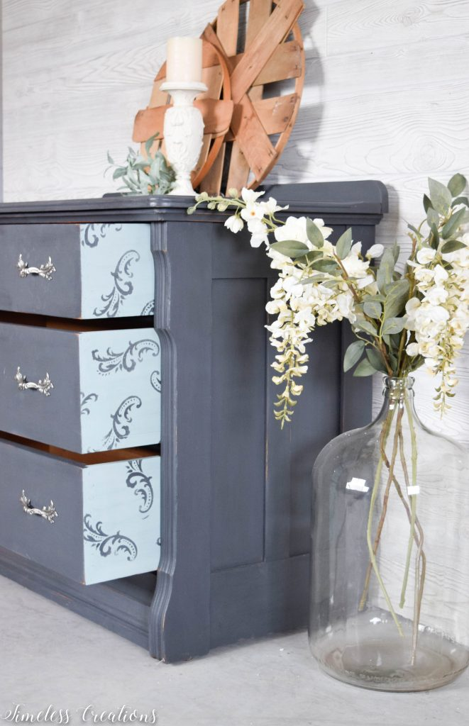 Charcoal Dresser with a Surprise! 7