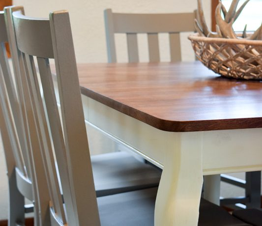 Updated Classic Dining Table & Chairs 13