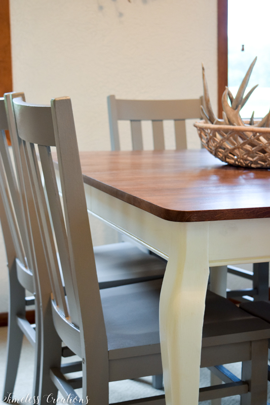 Updated Classic Dining Table & Chairs 1