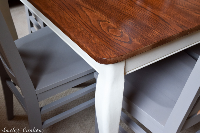 Updated Classic Dining Table & Chairs 6