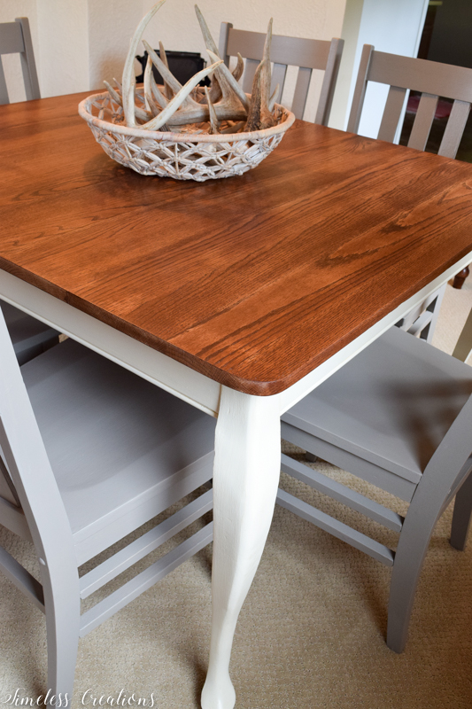 Updated Classic Dining Table & Chairs 4