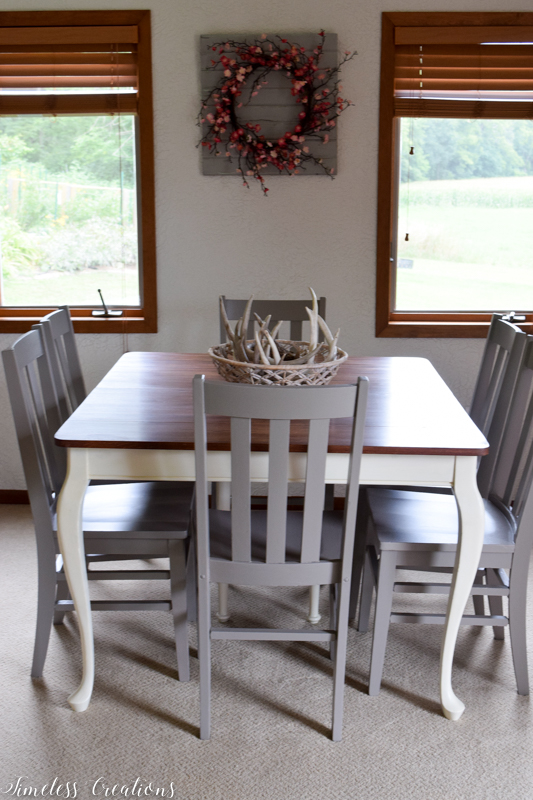 Updated Classic Dining Table & Chairs 7