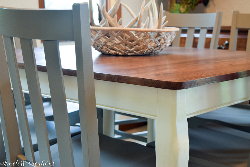 Updated Classic Dining Table & Chairs 2