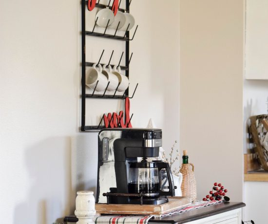 Christmas Coffee Bar - Decor Ideas for Every Season 113