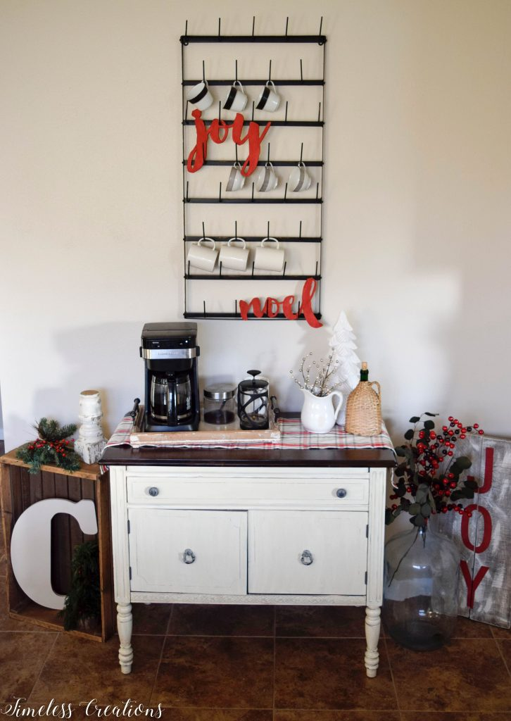 Christmas Coffee Bar - Decor Ideas for Every Season 10