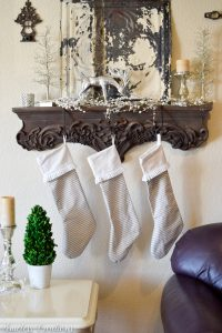 Rustic/Glam Holiday Decorations 32
