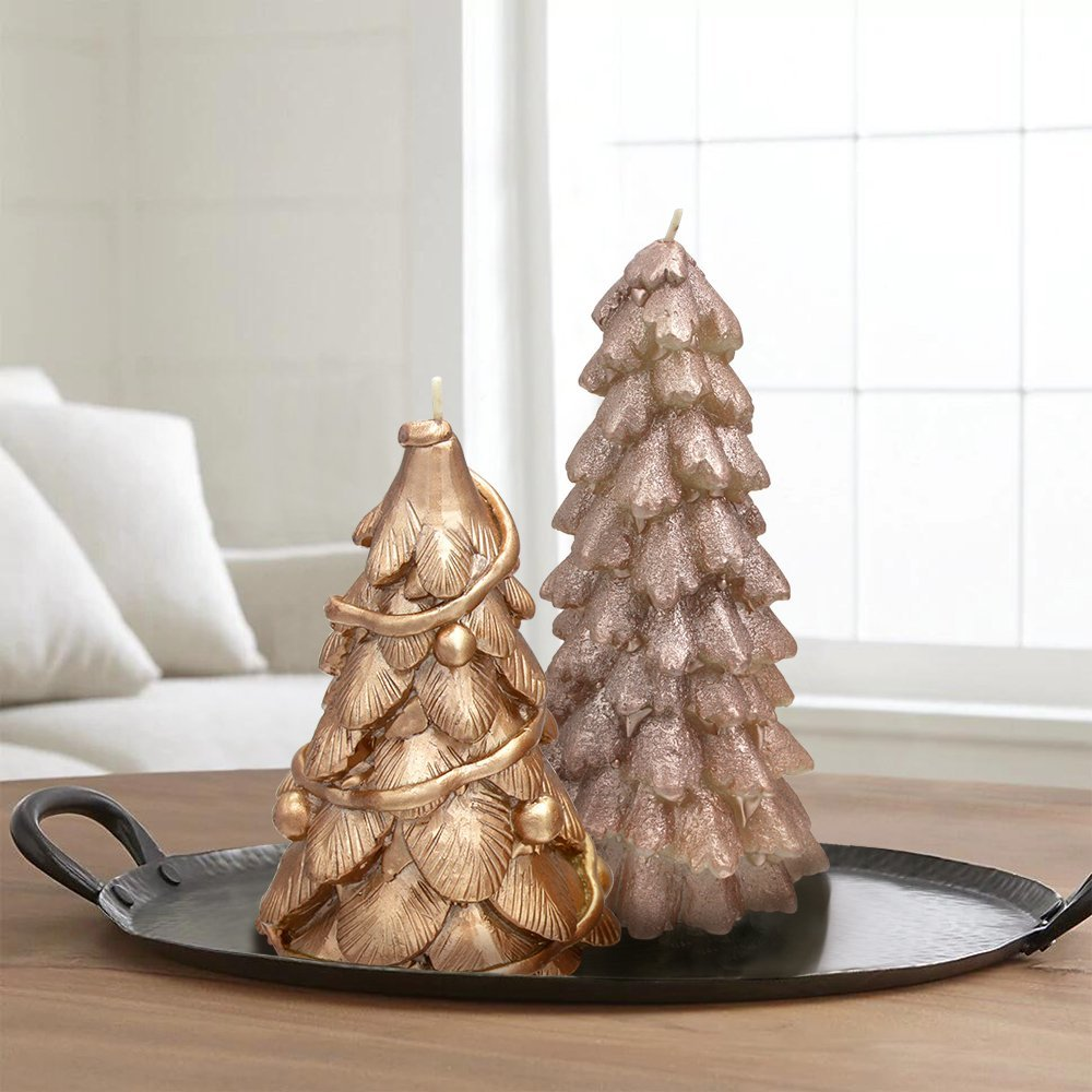 Rustic/Glam Holiday Decorations 12