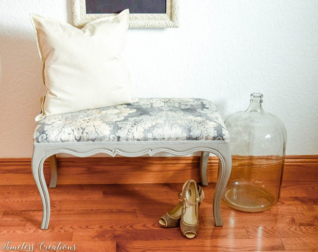 Upholstered French Style Bench 9