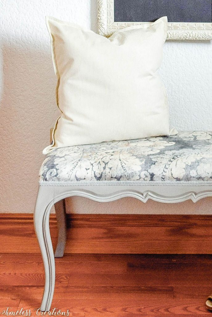 Upholstered French Style Bench 8