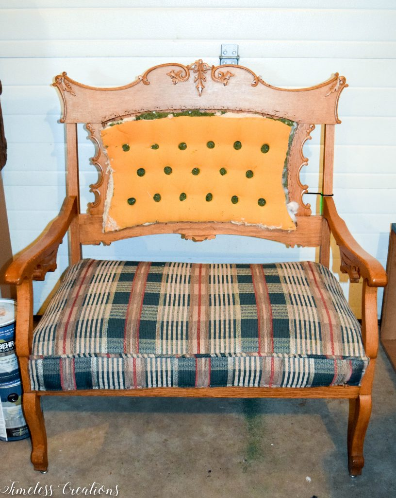 A Settee that Captured our Hearts! 2