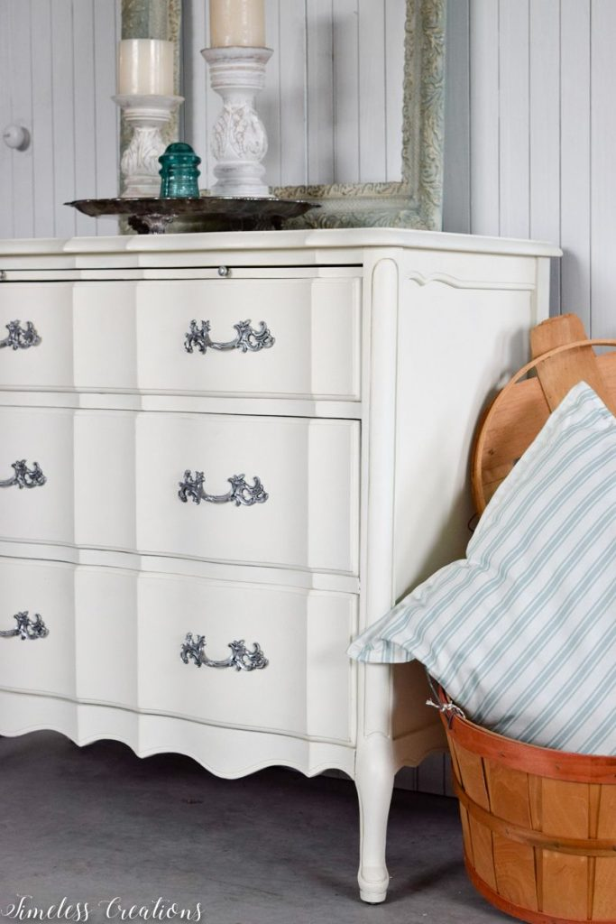 Just Look at those Curves - French Style Small Dresser 8