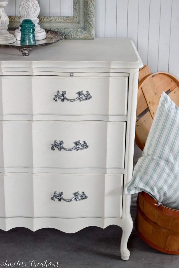 Just Look at those Curves - French Style Small Dresser 10