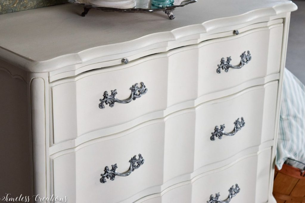 Just Look at those Curves - French Style Small Dresser 4