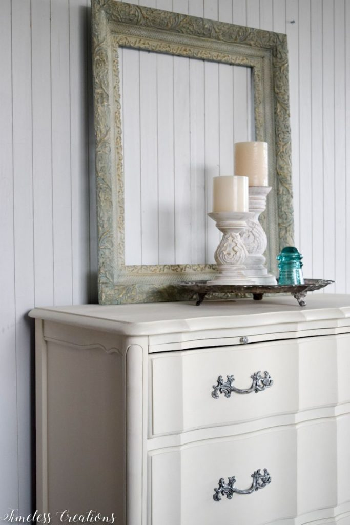 Just Look at those Curves - French Style Small Dresser 11
