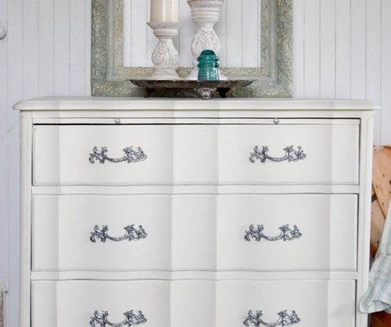 Just Look at those Curves - French Style Small Dresser 3