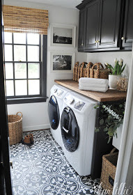 A Laundry Room Makeover - $100 Room Challenge 7