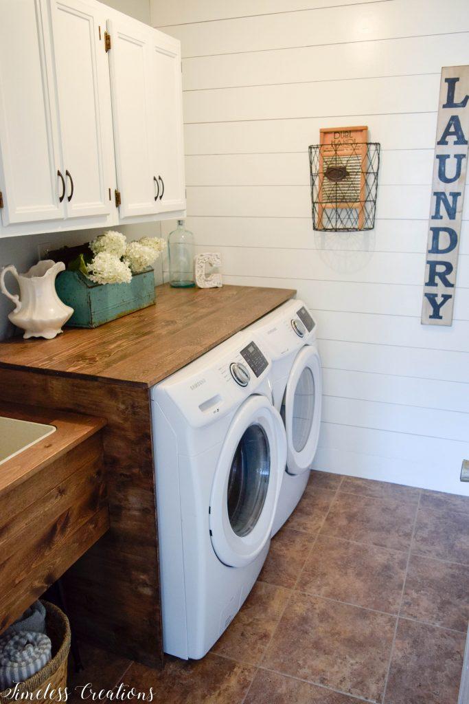 Laundry Room Reveal: $100 Room Challenge 17