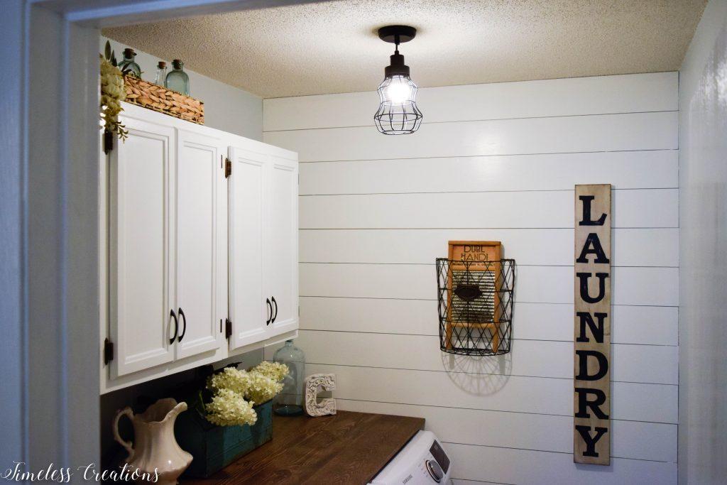 Laundry Room Reveal: $100 Room Challenge 13