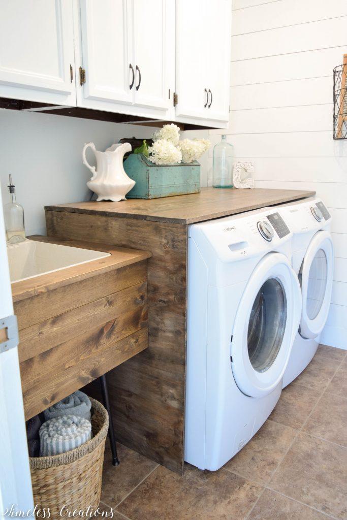 Laundry Room Reveal: $100 Room Challenge 11