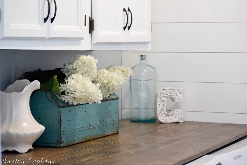Laundry Room Reveal: $100 Room Challenge 8