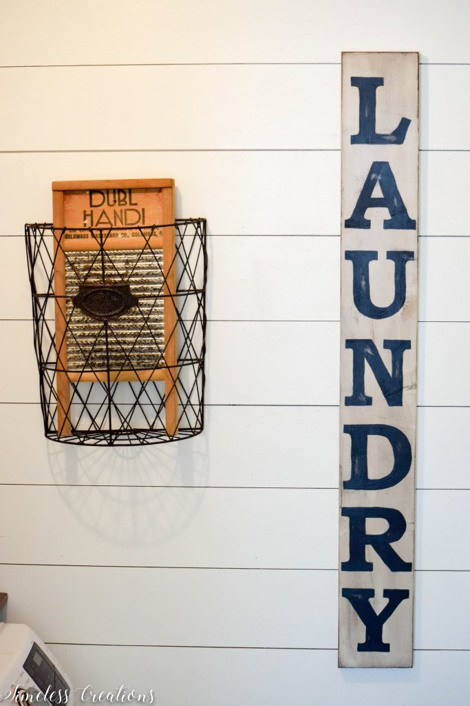 Laundry Room Reveal: $100 Room Challenge 5
