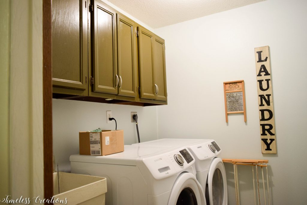 A Laundry Room Makeover - $100 Room Challenge 5