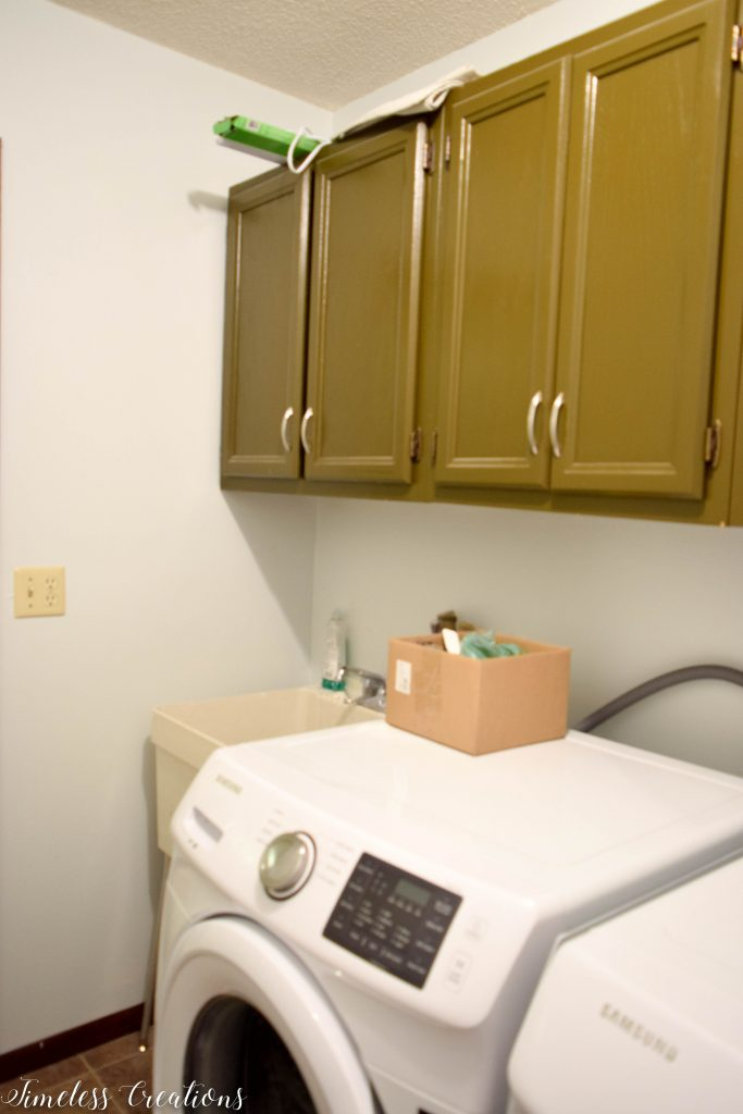 A Laundry Room Makeover - $100 Room Challenge 8