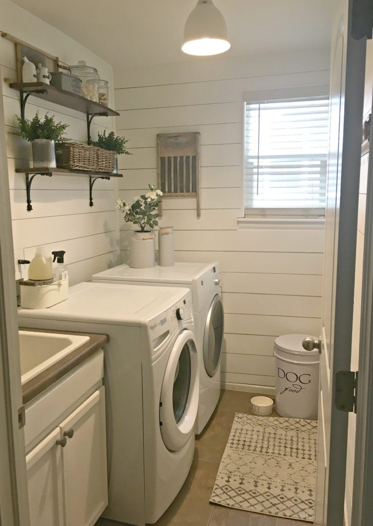 A Laundry Room Makeover - $100 Room Challenge 6