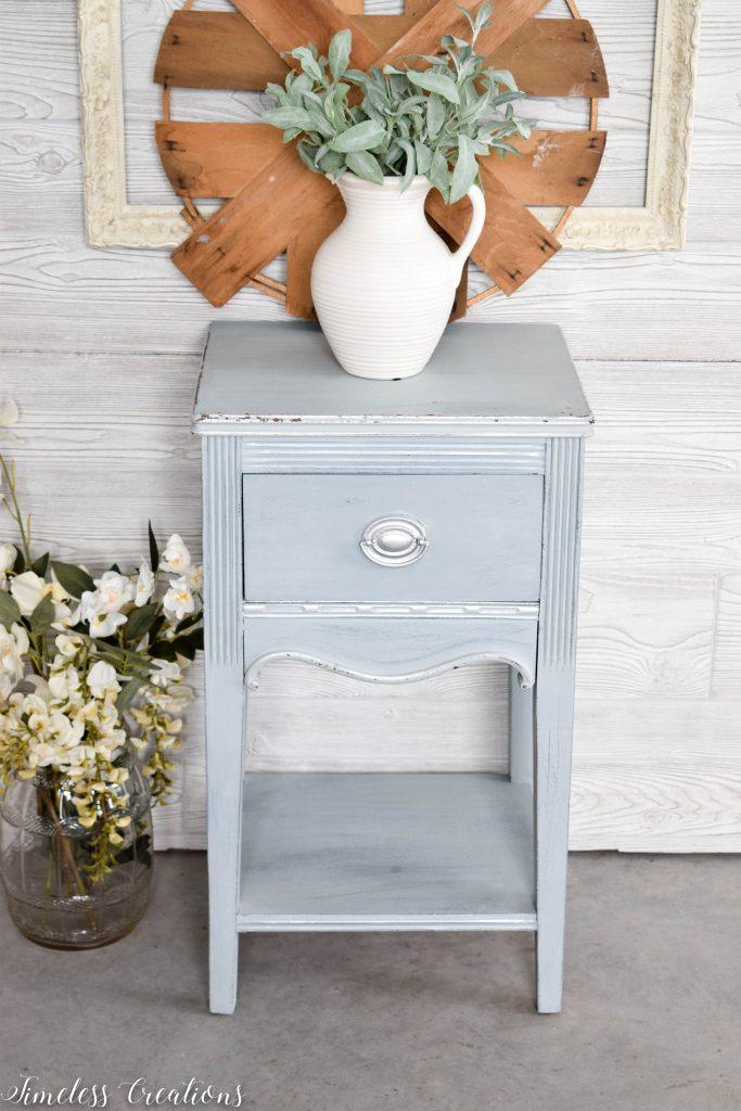 Dreamy Light-Blue Side Table 4