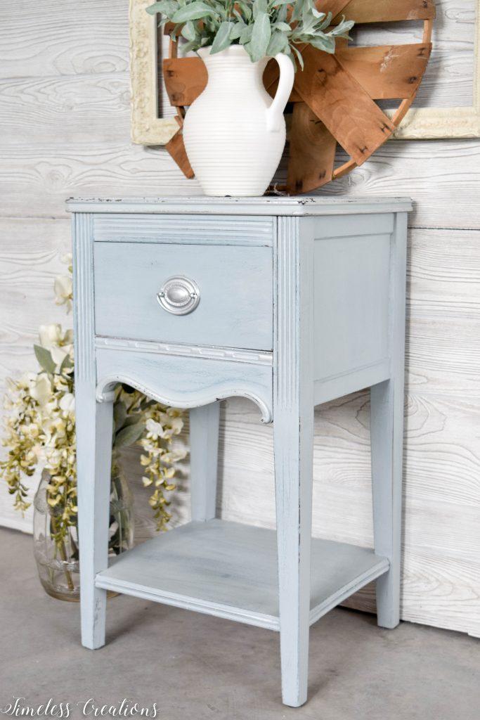 Dreamy Light-Blue Side Table 2