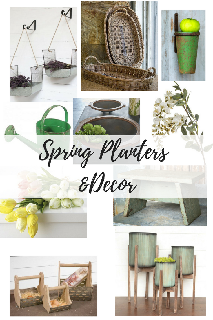 Spring is in the Air: Beautiful Spring Planters for the Home! 1