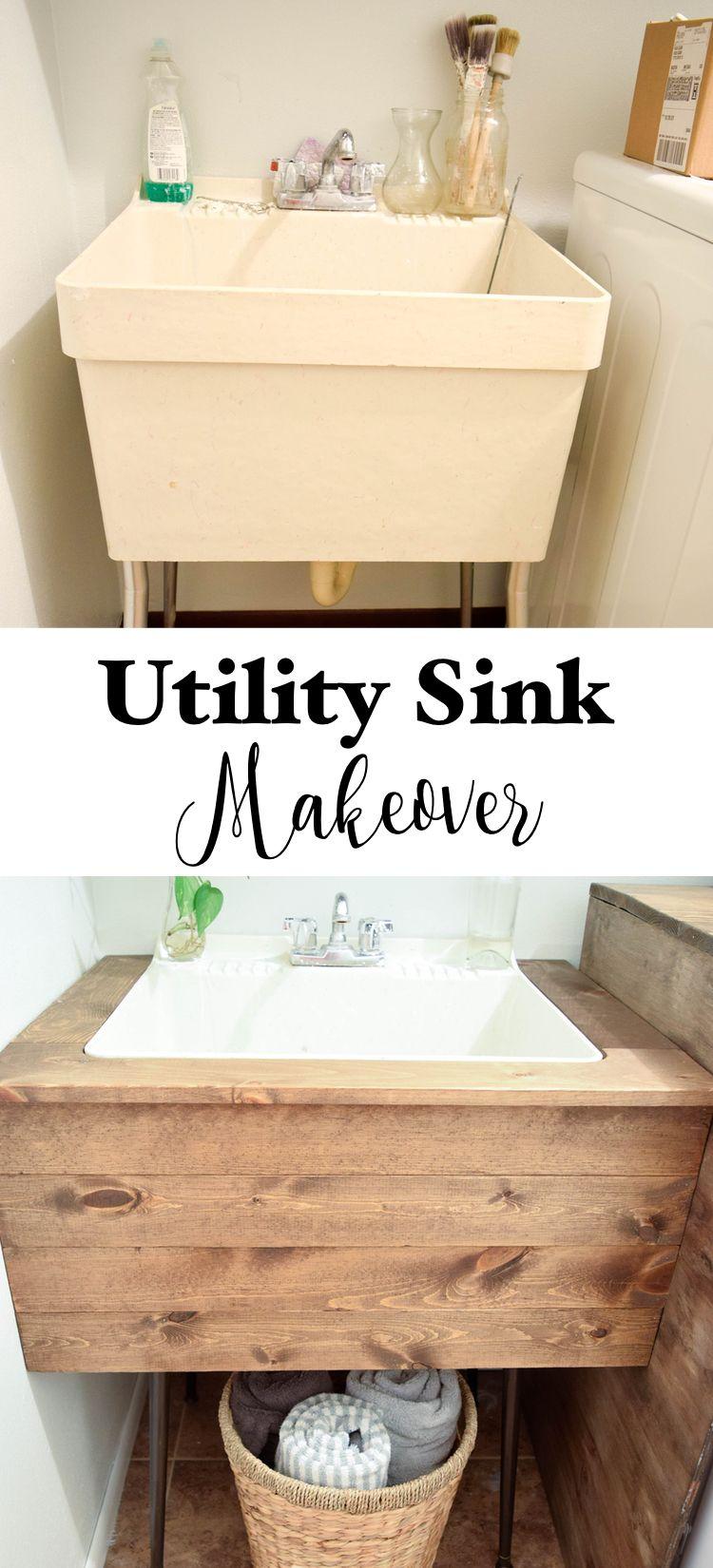 DIY Utility Sink Makeover 17