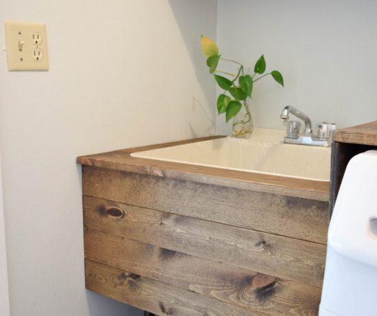 DIY Utility Sink Makeover 79