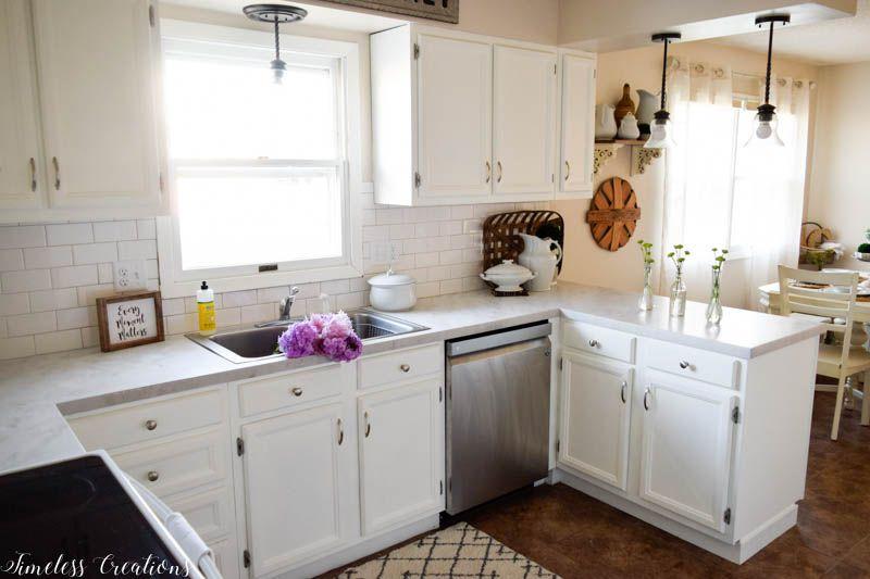 Kitchen Makeover Part 2: DIY Countertops! 5