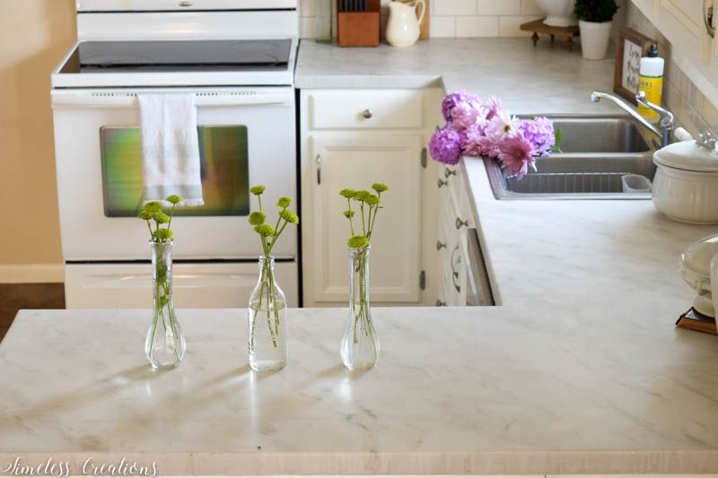 Kitchen Makeover Part 2: DIY Countertops! 17