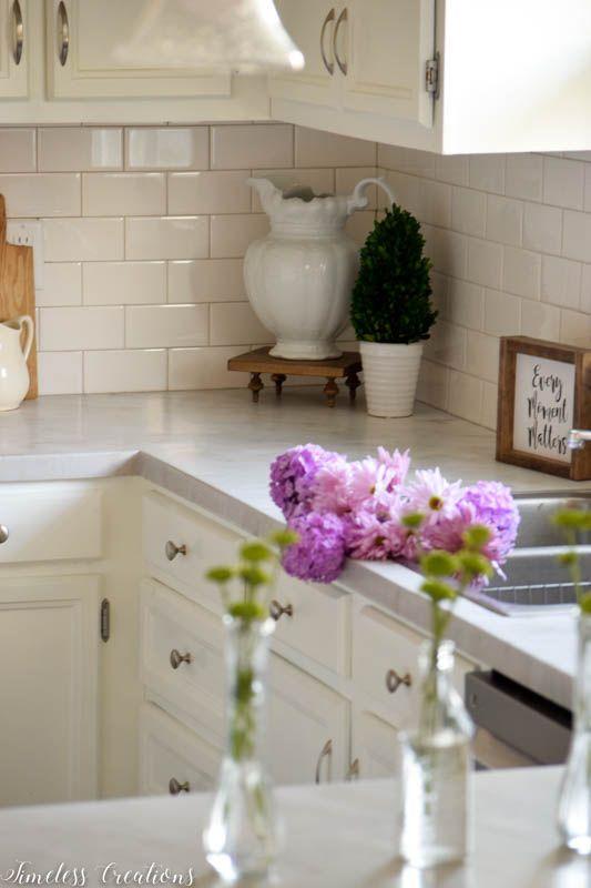 Kitchen Makeover Part 2: DIY Countertops! 1