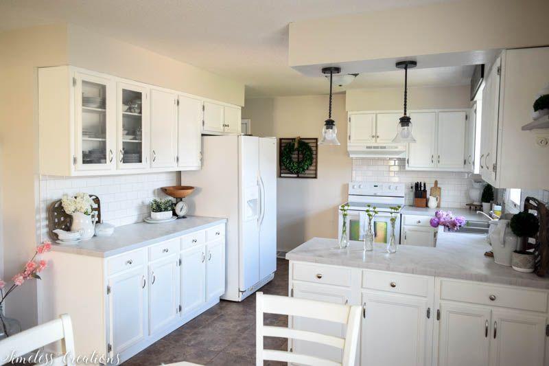 Kitchen Makeover Part 2: DIY Countertops! 12