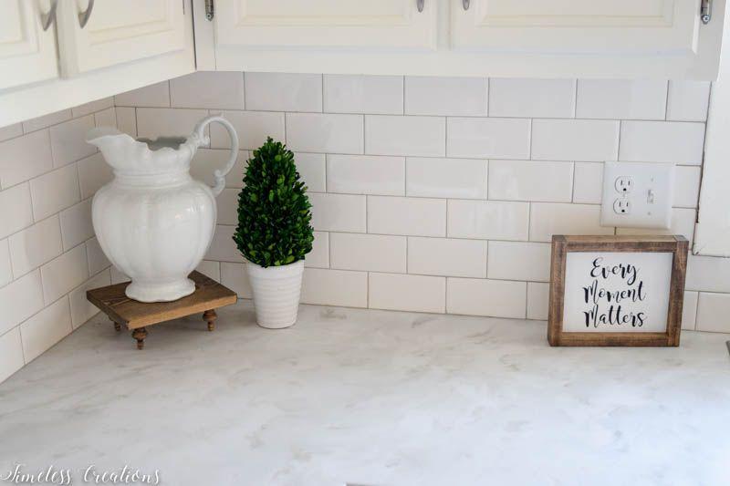 Kitchen Makeover Part 2: DIY Countertops! 7
