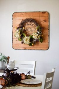 Places to Hang a Wreath that's NOT on the Door! 1