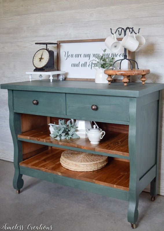 My new Favorite Green for Furniture 4