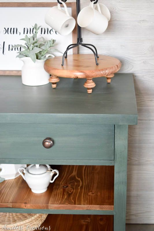 My new Favorite Green for Furniture 3