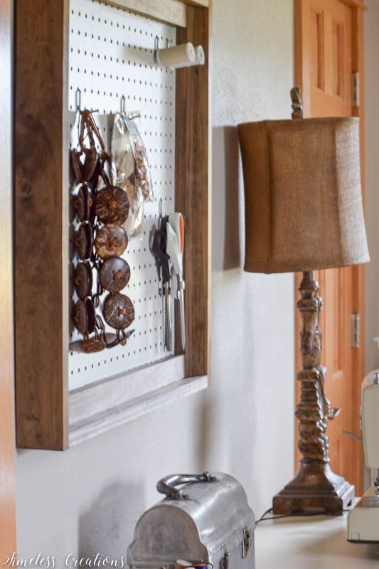 Different Wall Organizers for the Craft Room - $100 Room Challenge Week 3 3