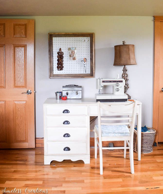 Different Wall Organizers for the Craft Room - $100 Room Challenge Week 3 2