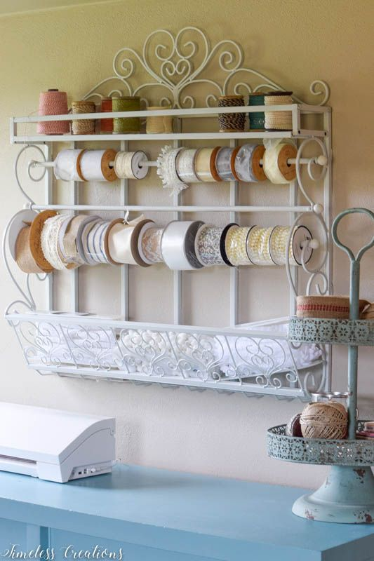 Different Wall Organizers for the Craft Room - $100 Room Challenge Week 3 5