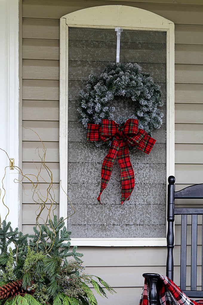 Places to Hang a Wreath that's NOT on the Door! 14