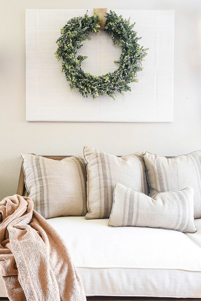 Places to Hang a Wreath that's NOT on the Door! 8